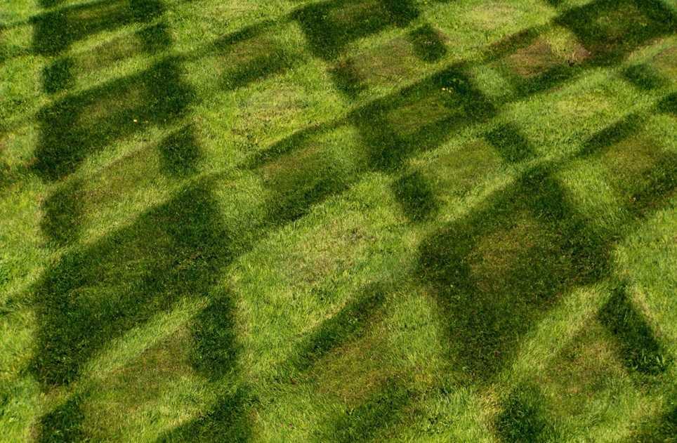 Explain Lawn Mowing Patterns Techniques